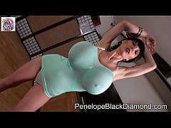 PenelopeBlackDiamond - 30x6 brutalDildo