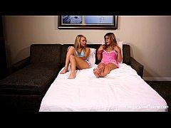 MILF and Teen Lesbian Fun