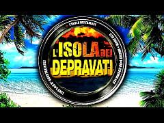 ISOLA DEI DEPRAVATI con Sofia Bellucci, Asia D&#039_Argento e Dana Santo