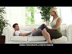 FamilyHookups- Hot Stepmom Sucked My Cock In Ex...
