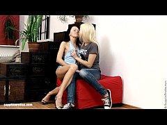 Footstool Fondlers by Sapphic Erotica - lesbian...