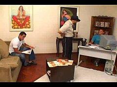 Teste para ator porno - Alexandre Senna, Edmilson Martins, Marcos Barreto