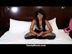 TeenyBlack - Busty Canadian Ebony Porn Debut