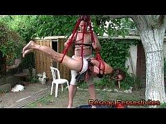 Shibari la fess&eacute_e en suspension