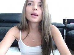 Nicolettes first time cam show - 679cams.com