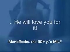 MarieRocks 50 Plus MILF - Interesting Masturbation