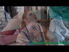 RedheadWunder and MrMatMo amateur couple blowjo...