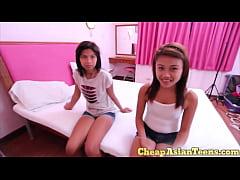 \u2471 Young Hairless Asian Teen Hooker Blowjob - Ch...