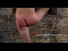 Aiden Jason gets his ass used while in bondage