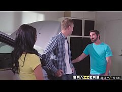 Brazzers - Teens Like It Big -  Fixer-Upper Daughter Stuffer scene starring Gina Valentina, Lily Jor