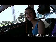 Crazy College Girl Hanna on ECG