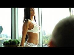FantasyHD - Sexy private secretary Gianna Nicol...