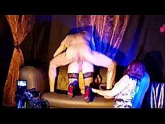 Cali Cruz fucking Theatre X Eropolis Paris 2015 avec Emy Russo