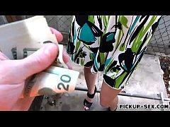 Tight Eurobabe Andi Rye banged for money