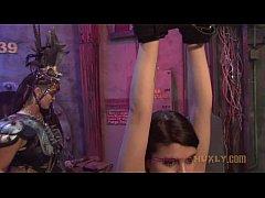 Voodoo Queen Flogs Raquel Roper