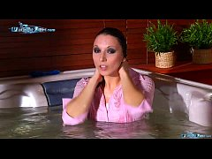 Alissa Home Alone :) (Wet masturbation) Wetlook Sex