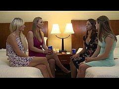 Tanya Tate and a newbie lesbian Alice March - Girlfriends Films