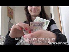 Super tight Czech slut Aimee Ryan banged for money