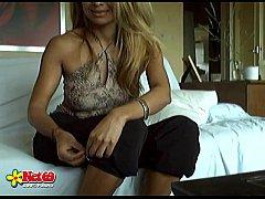 (dutch) Webcam film van een vakantie vriendin