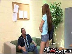 Adriana Nevaeh is the teacher&#039_s pet