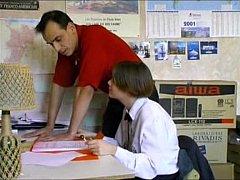 French teen & teacher