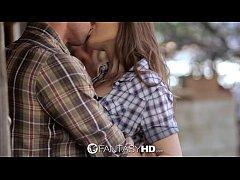 HD FantasyHD - Cowgirl Dani Daniels rides dick ...