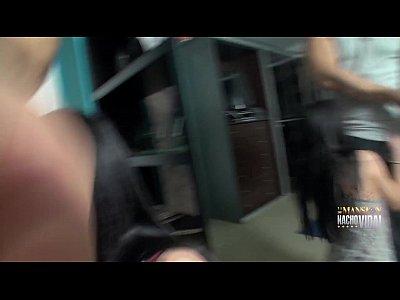 Ana Marco MYHYV entra a la Mansion de Nacho Vidal