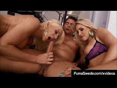 Puma Swede Sucks & Licks Balls & StuntCock Fucks DD Ventura!