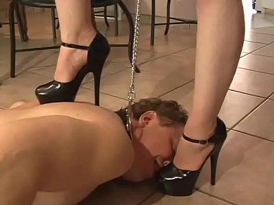 humiliation, Heels, licking, Shoes, foot-fetish