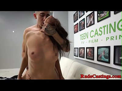 dilettante bellezza hardfucked al casting