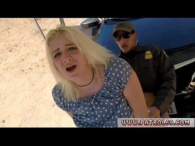 Hardcore, Blonde, Outdoor, Blowjob, Uniform, Tits, Police, Facial #27078983