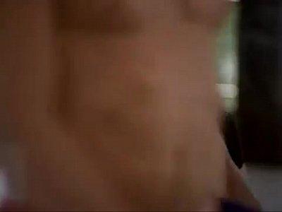 super sexy actress seducing-krista allen hot at gym workout in Baywatch
