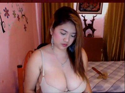 tits, Big Tits, Asian, Cute, Webcam