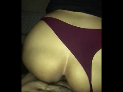 Big Ass Latina Tipsy late night backshots