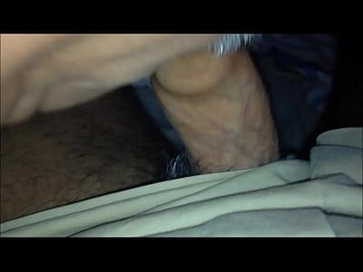 Another Trucker sucking my cock