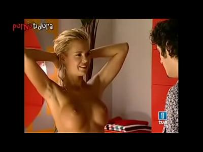 Lucia rubia española desnuda en La Primera