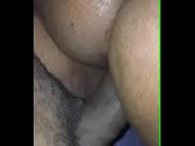 Metiéndolo por el culo a la negra sabrosa ass interracial gape jamaican