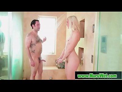 Blonde masseuse gives cock massage - Tommy Pistol & Chloe Cherry