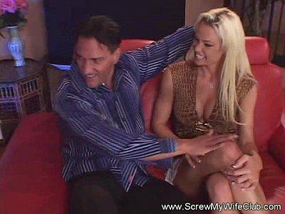 Hubby's Friend Fucks His Wife