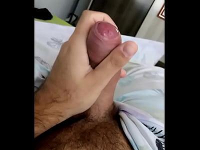 #cock_hairy_masturbation_solo_gay_uncut_big cock