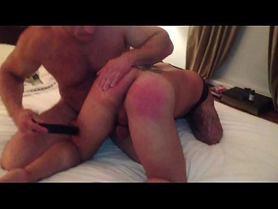 Spanked Hard and in Pain