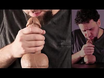 Sexy Blow Job Instructional with Cum Shot