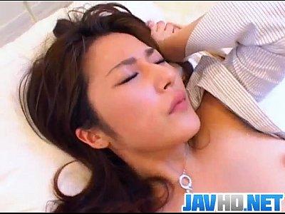 Ravishing porn show for cock sucking Minami Otsuki
