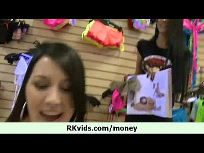 Hot teen girl let us fuck her for cash 6