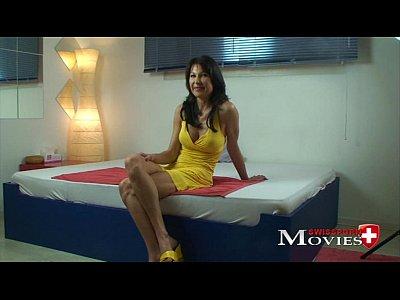 eva sexy signora scopata in casting porno