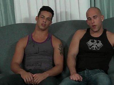 2 str8 Cuban buddies for ages have sex.