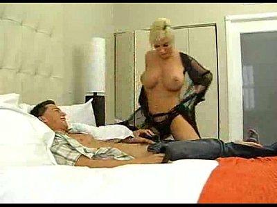 spankwire.Amazing Hot Busty Blonde MILF