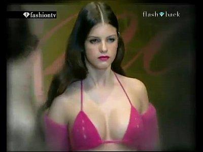 Fashion Show Nip Slip