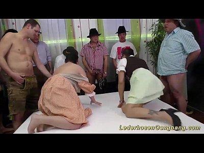 wild german fuck party orgy