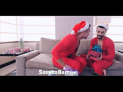 ShowerBait - Seth Santoro Covered in Str8 Cum